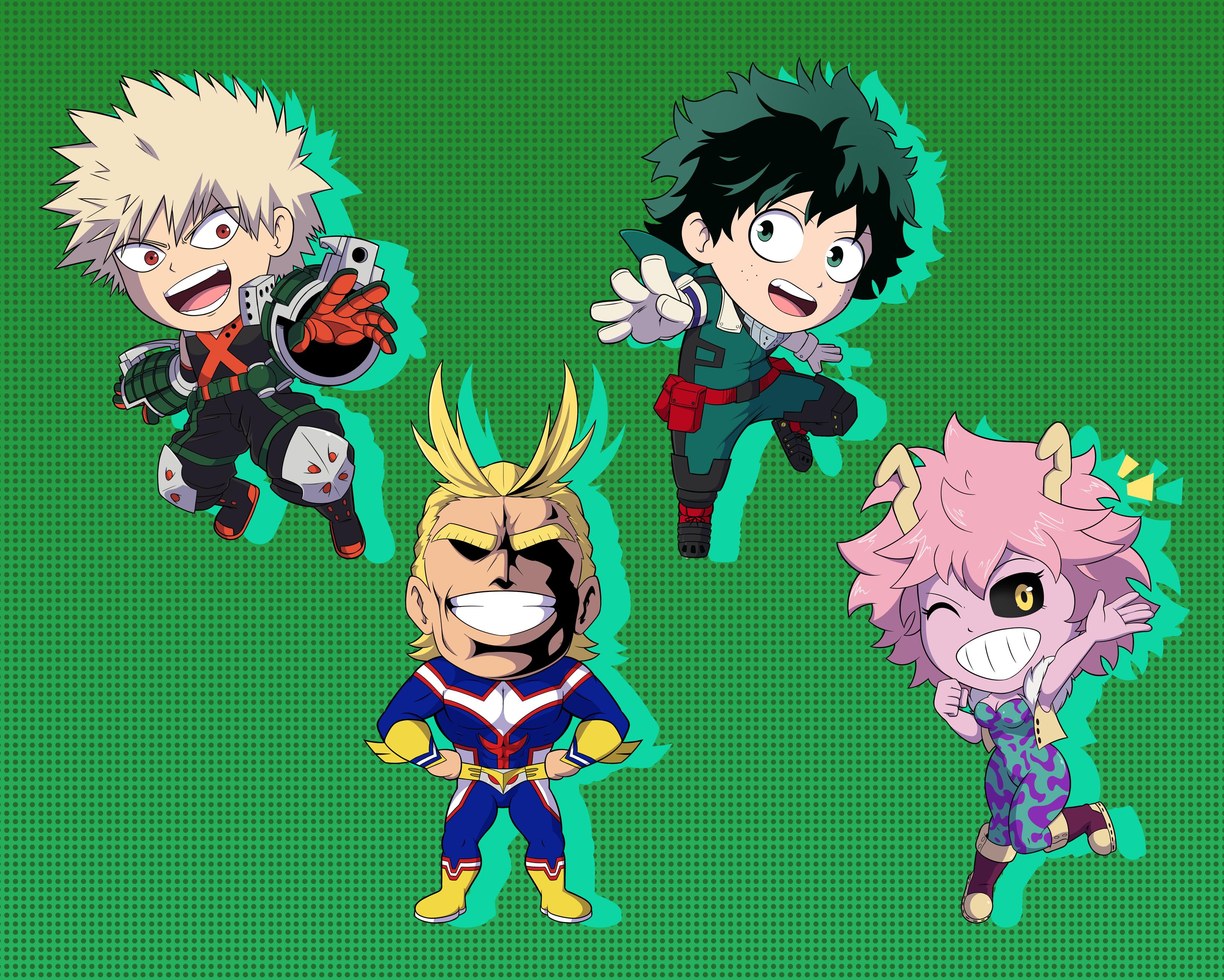 My Hero Stickers Set 1