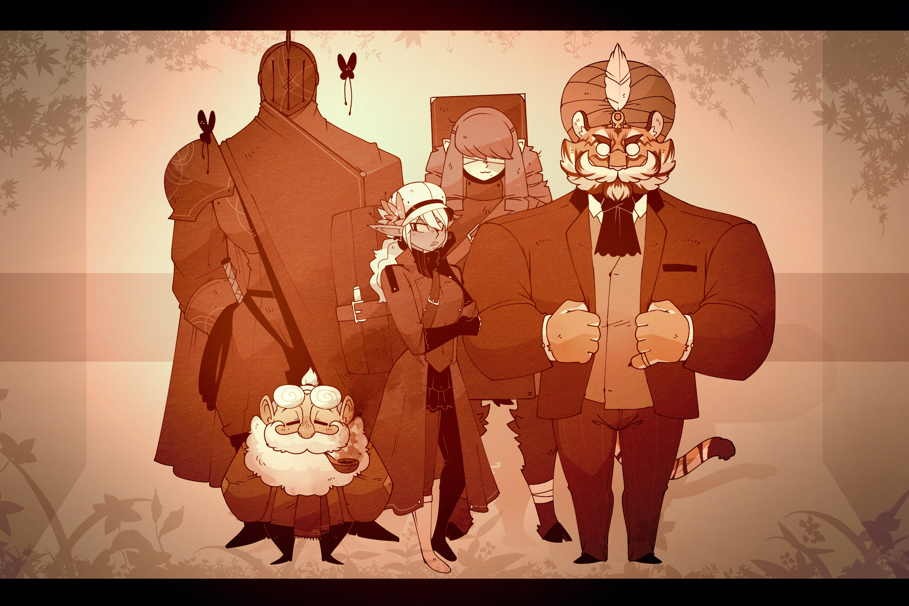 D&D - The Old Crew