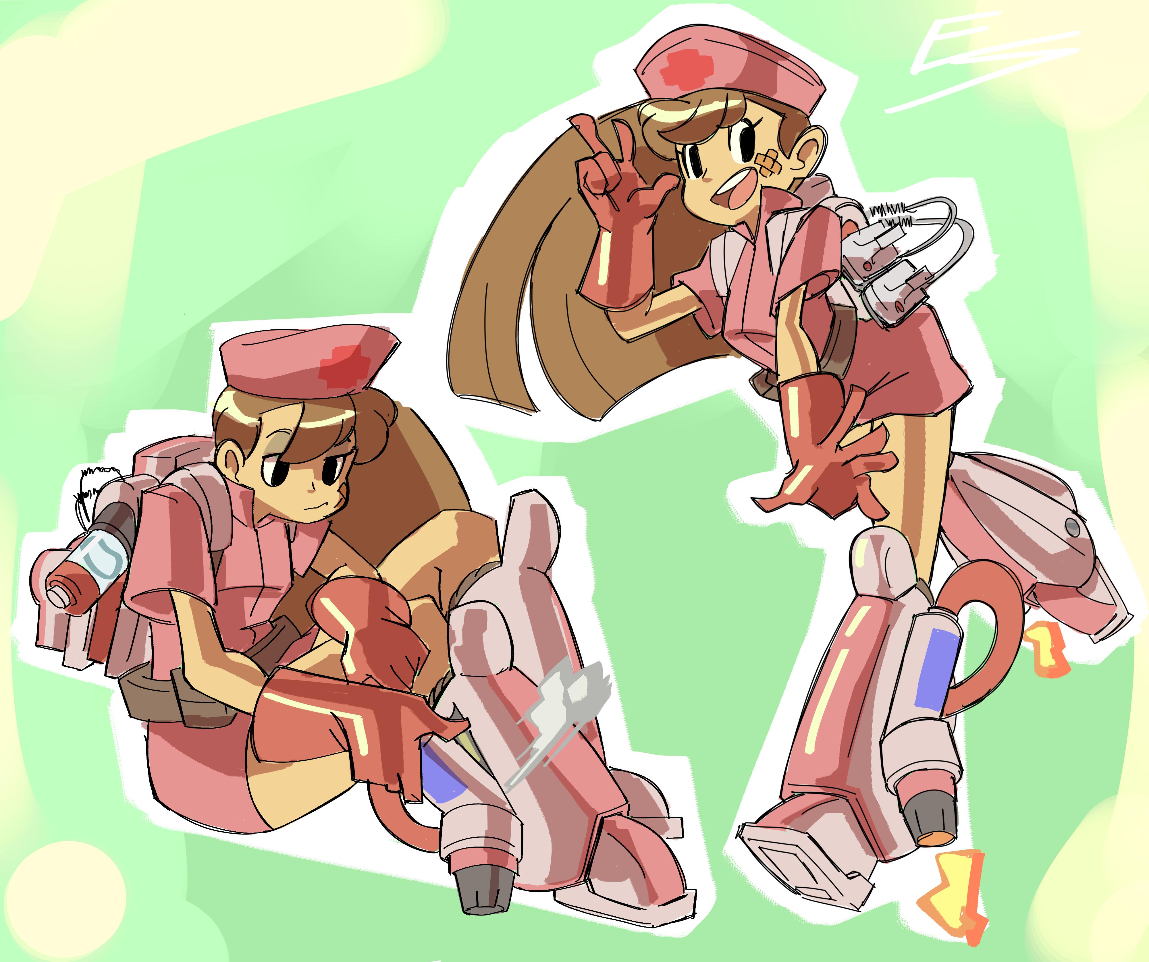 Rocket Propelled Nurse