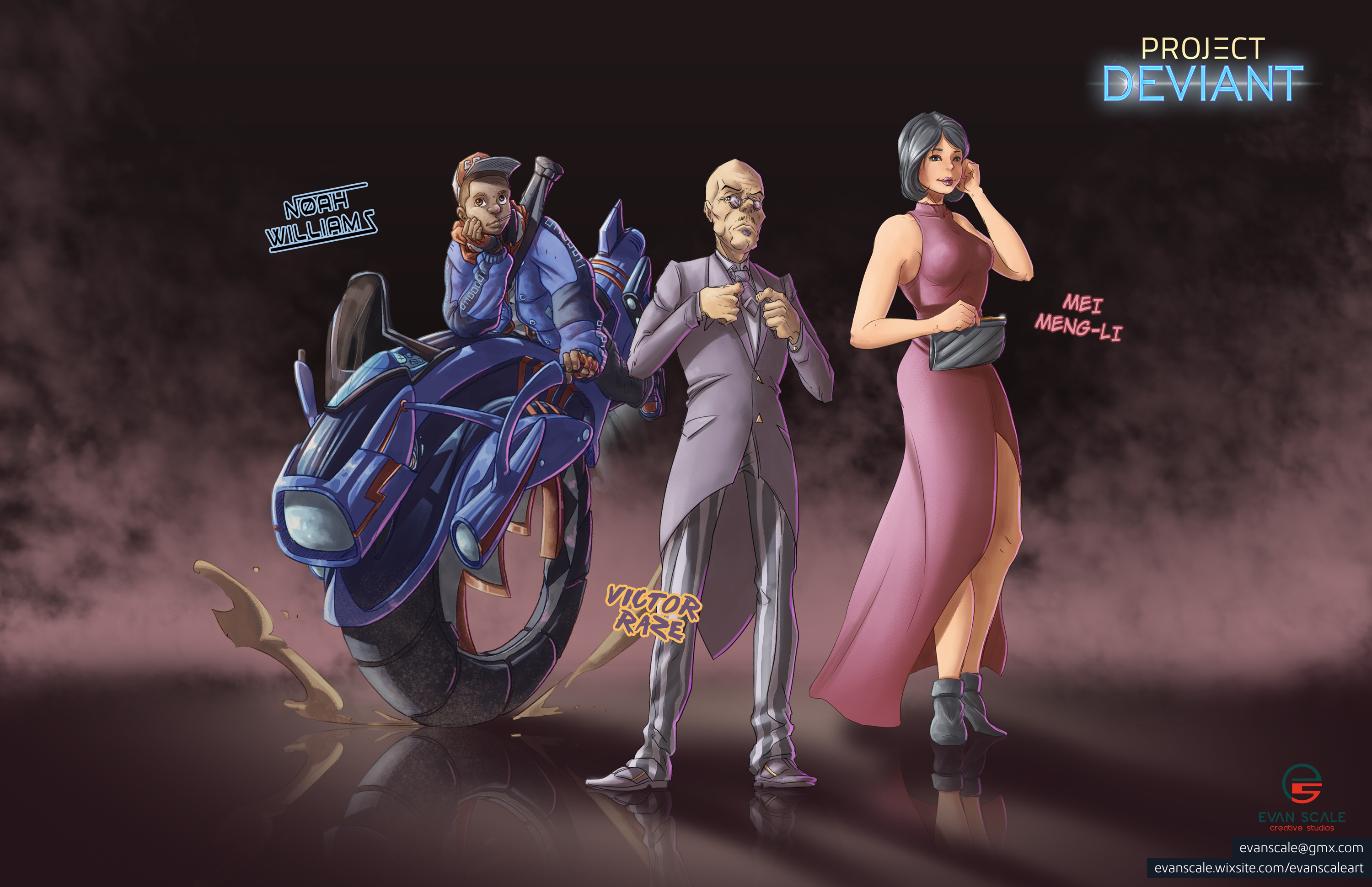 Project Deviant - Characters