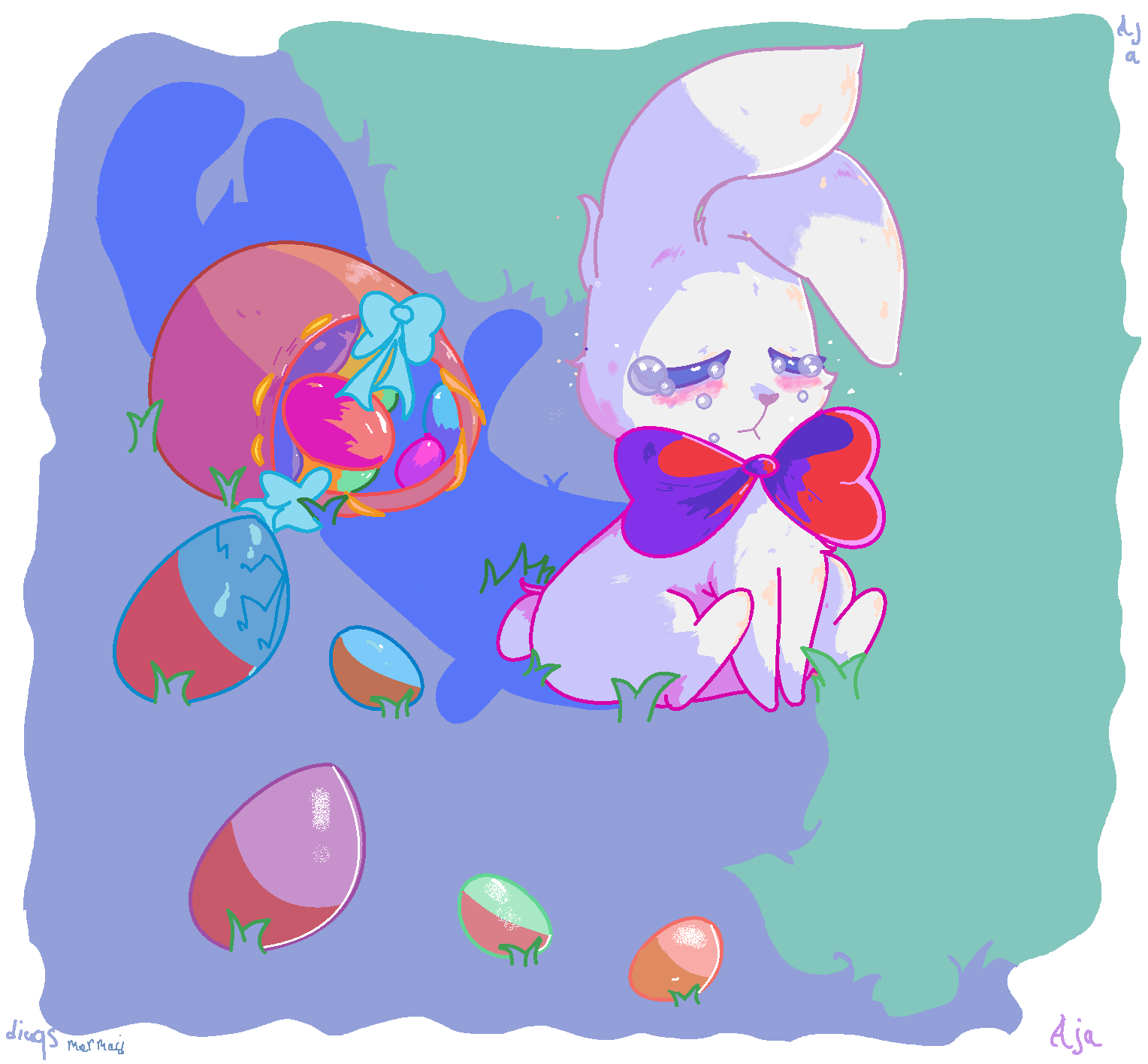 Cry little bunny.