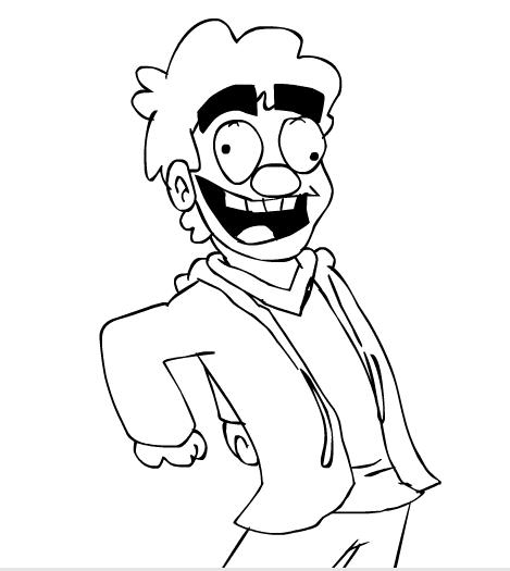 Eddsworld 80's Dancing Dude