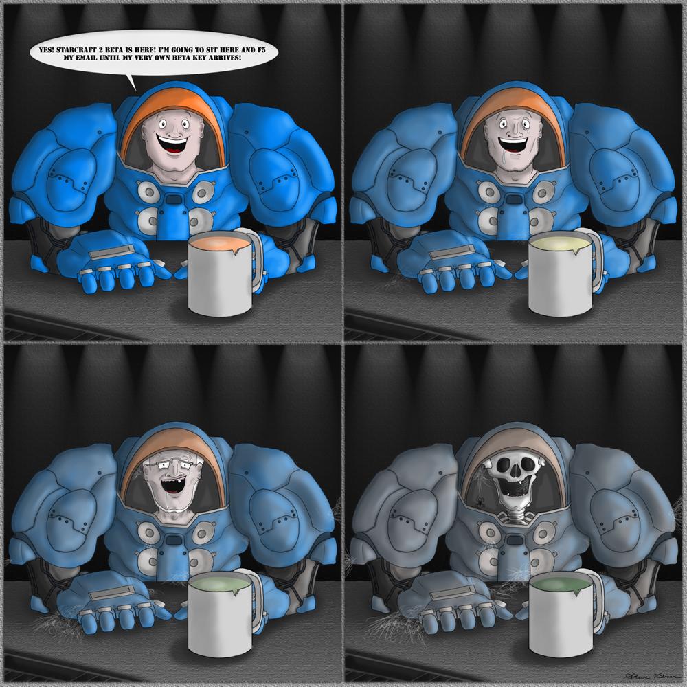 Starcraft 2 Comic Contest