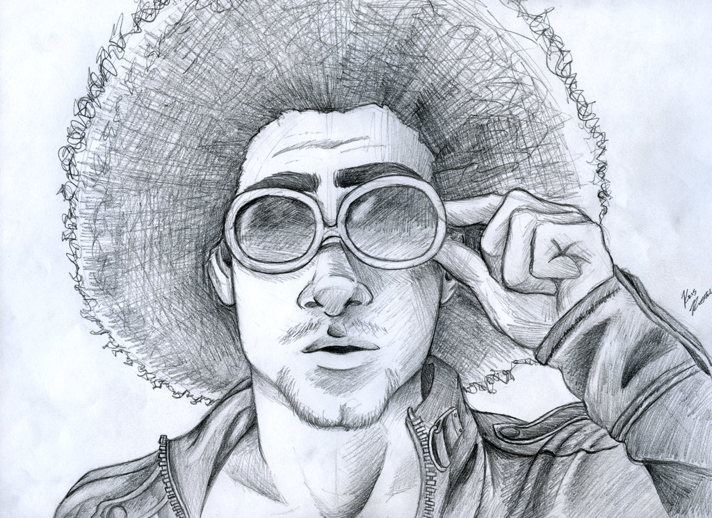 - Afro & Shades -