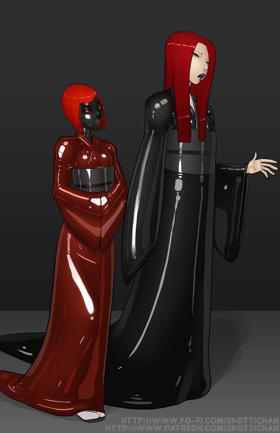 Patreon Comm - Dark Mistress pt 1