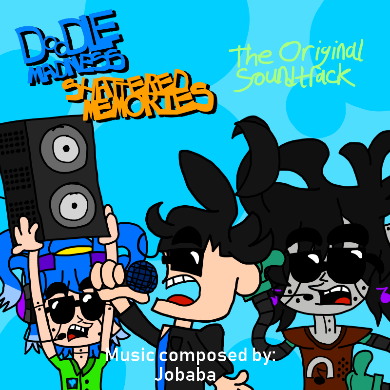 Doodle Madness: Shattered Memories Official Soundtrack Cover