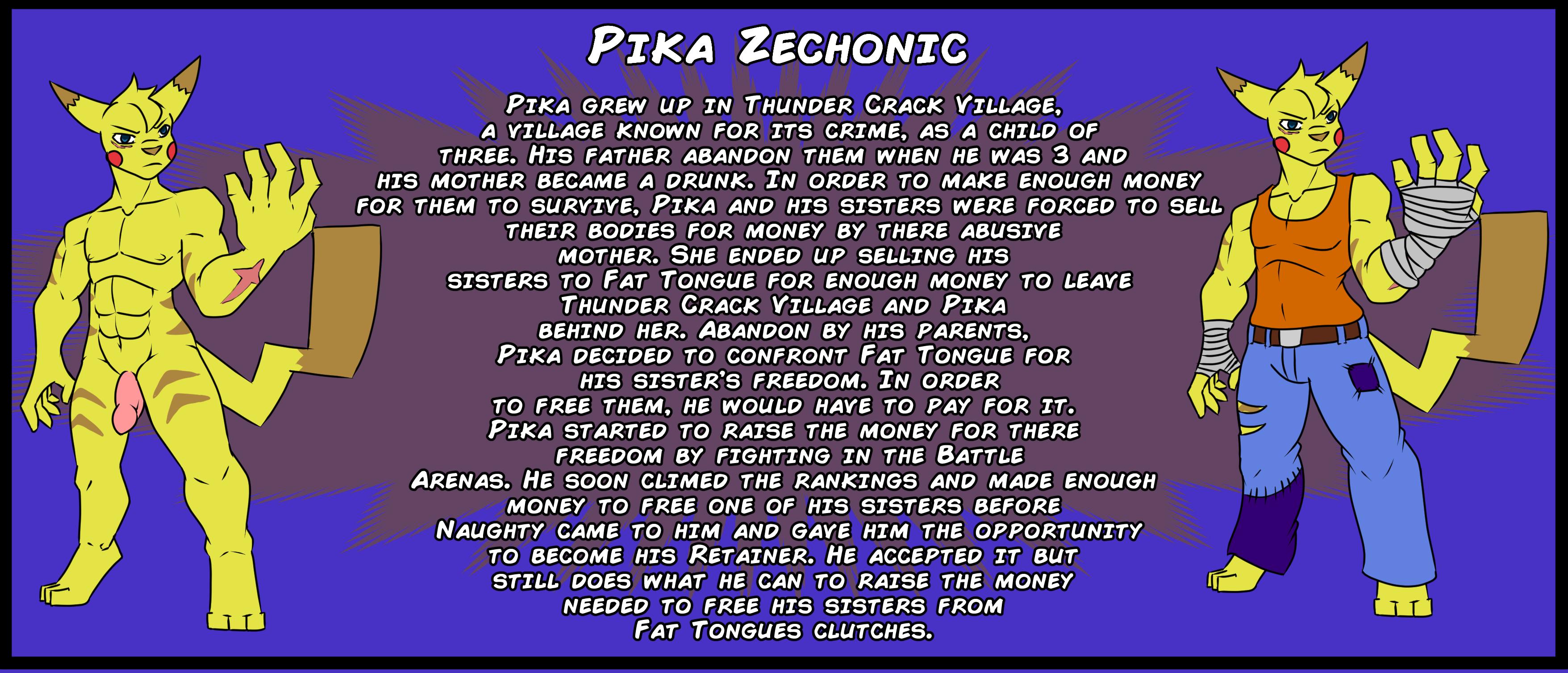 Pika Zechonic Bio