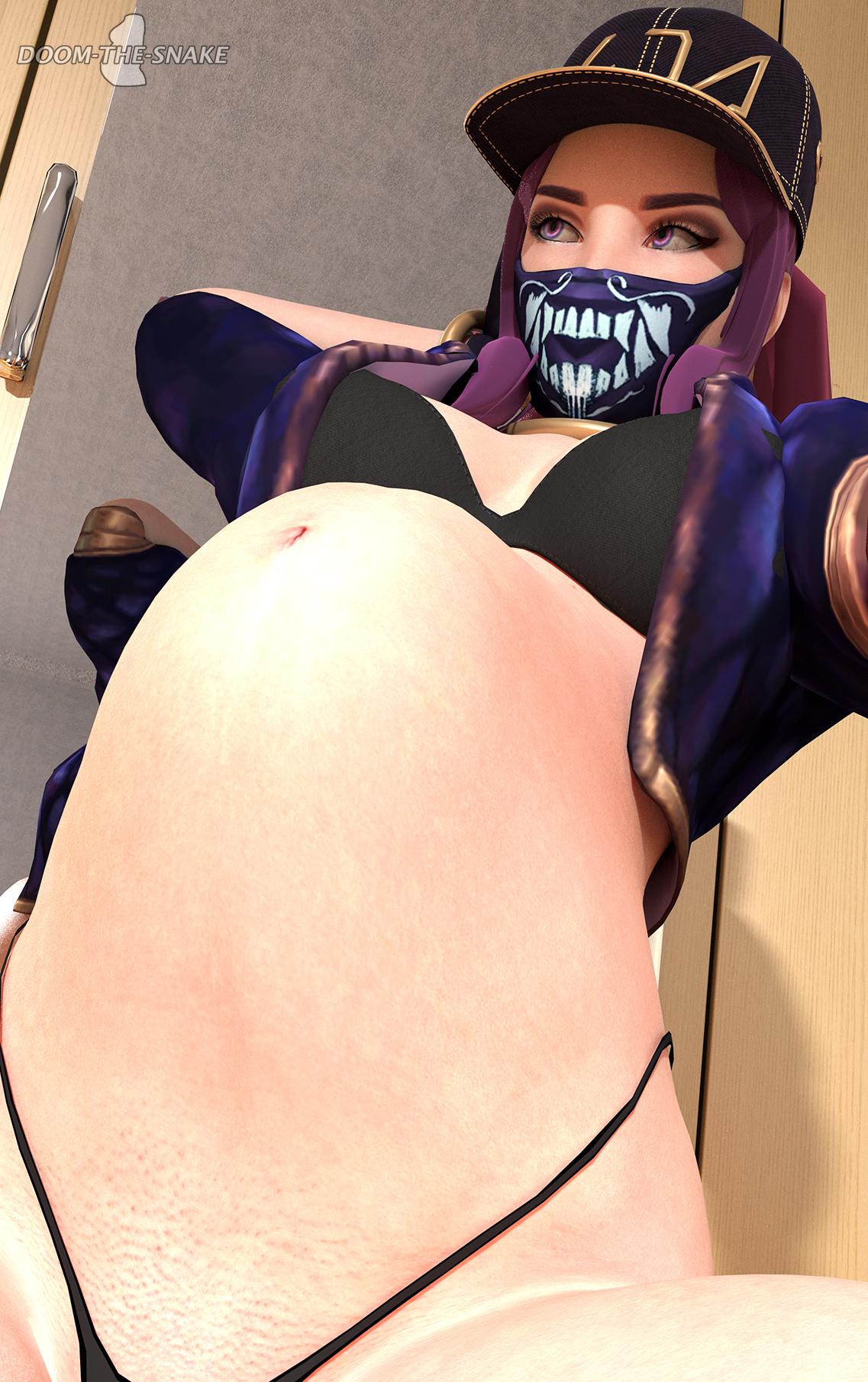 Pregnant Akalik Pose 2