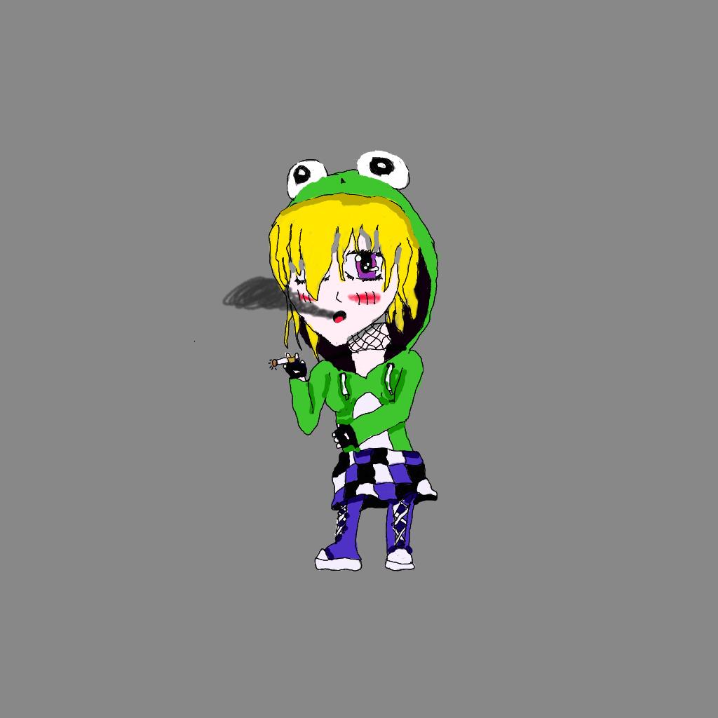 Eli the froggy chibi