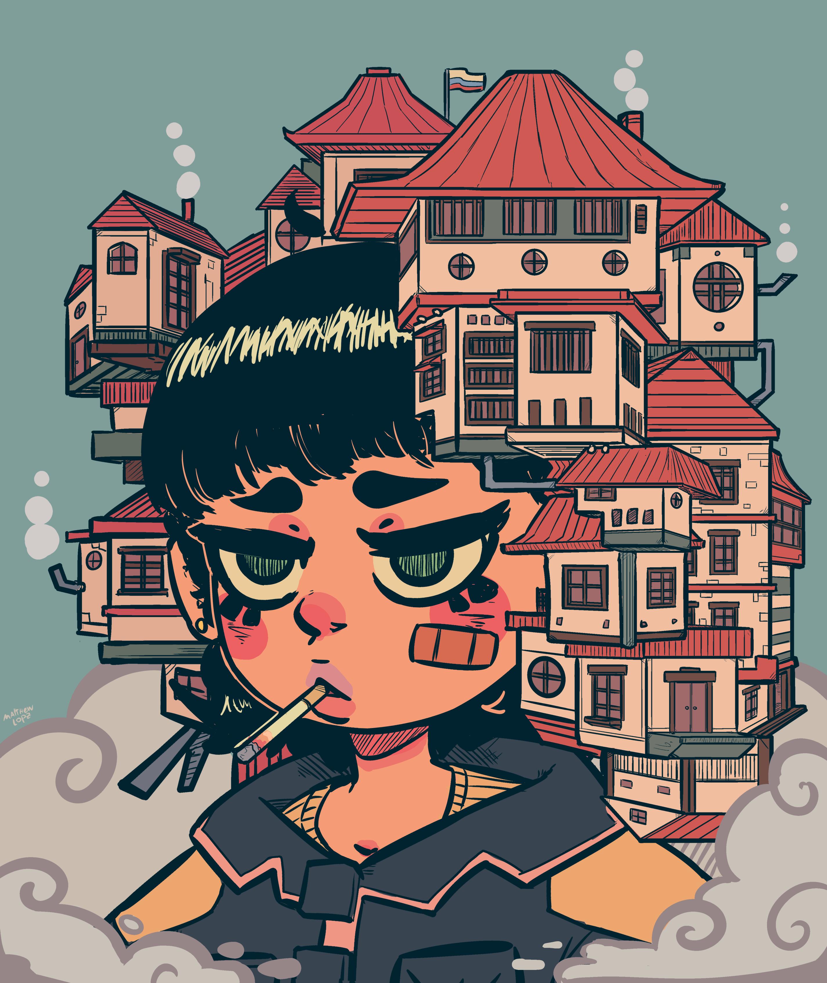 Smoke Girl House