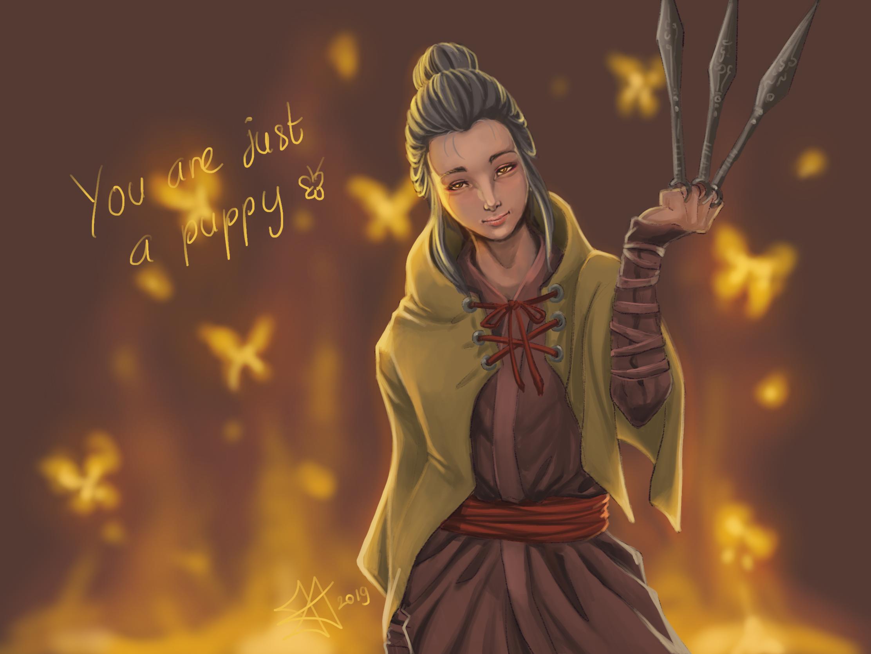 Sekiro FanArt: Lady Butterfly