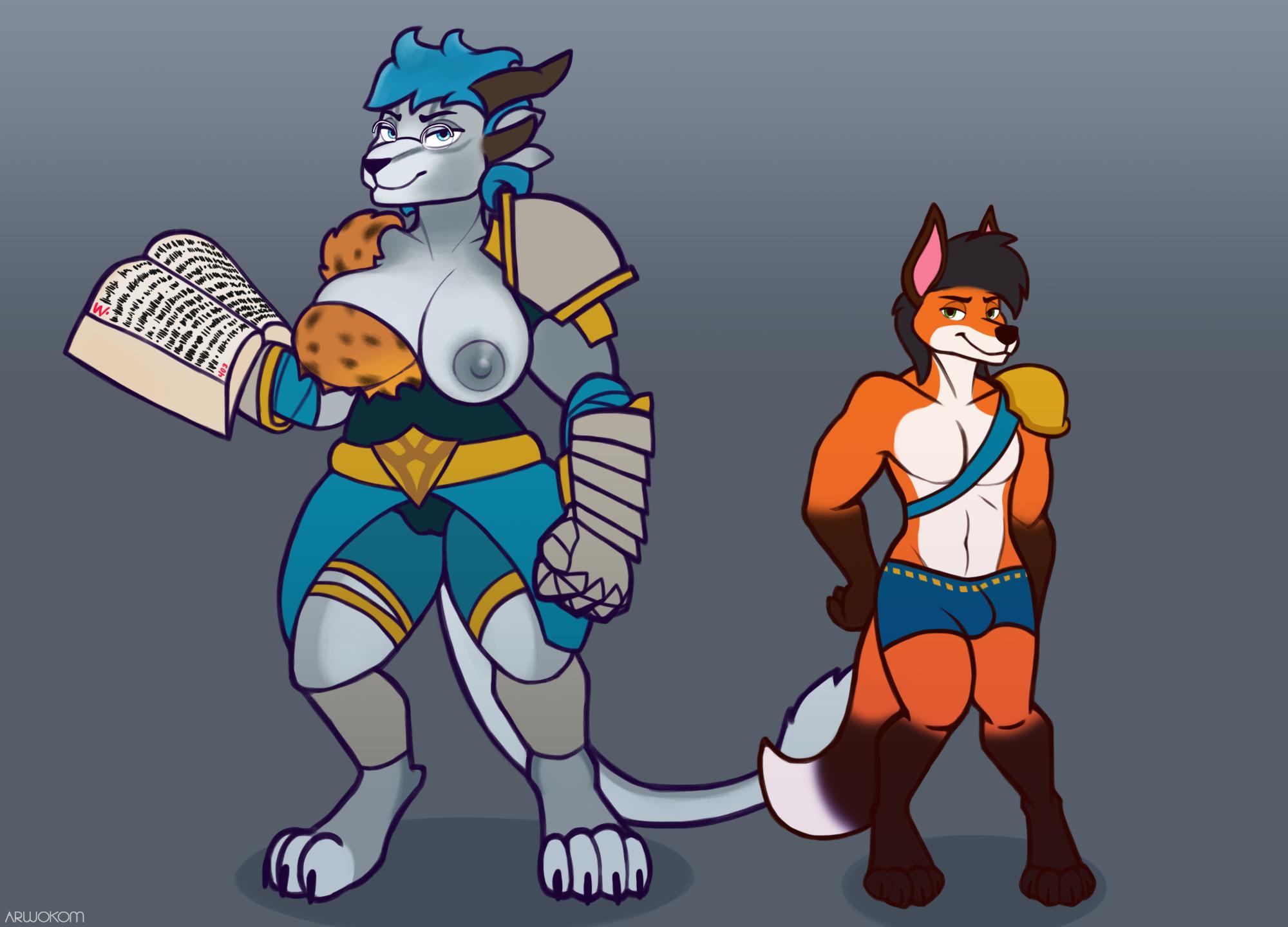 Grand adventurers {Commission}