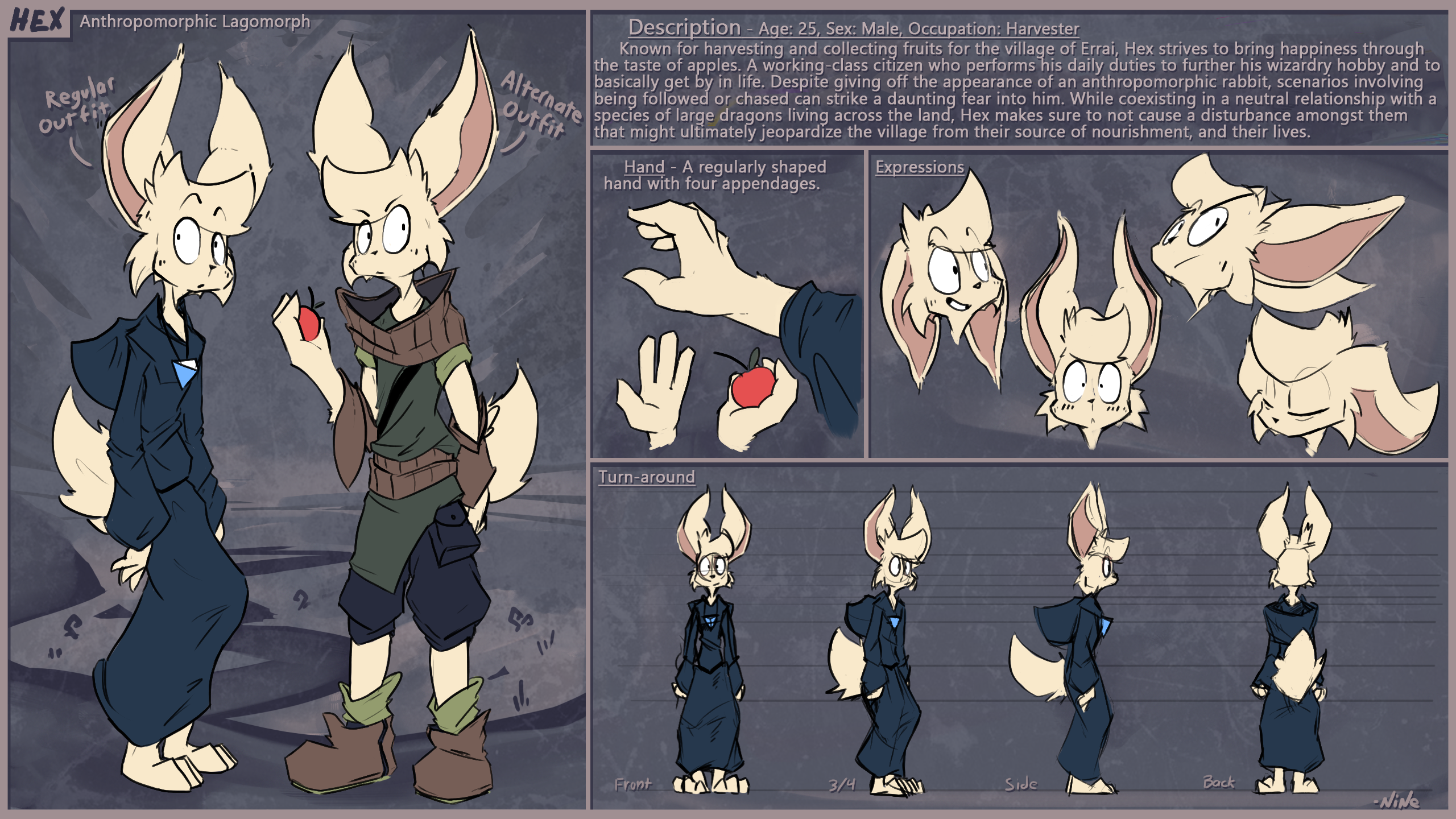 The Harvester of Errai (Hex's Reference Sheet)