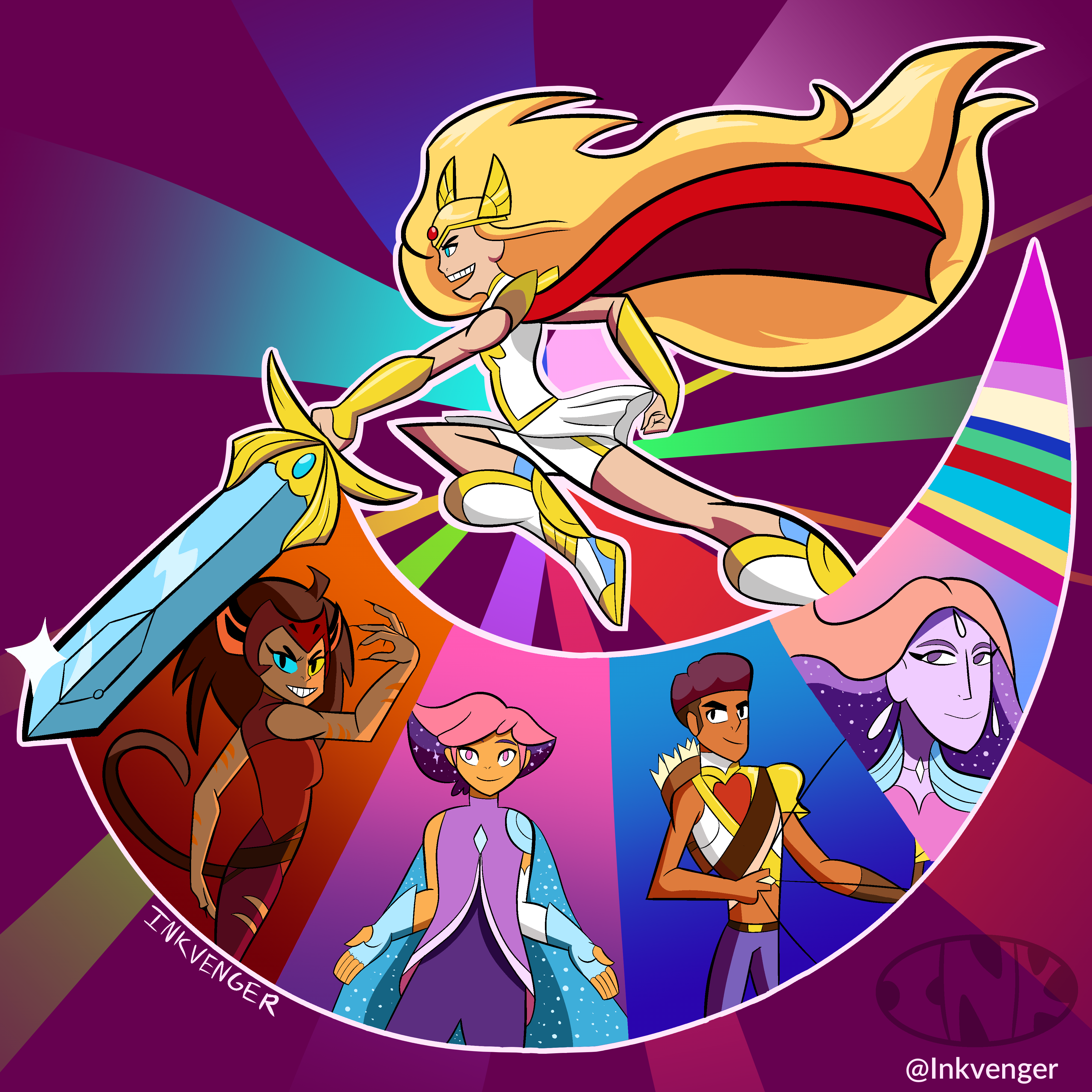 She-Ra and the Princesses of Power Season 4 Exclusively on