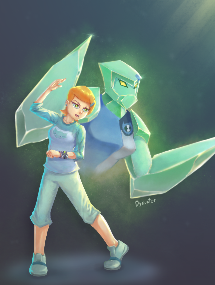 Gwen 10 : Diamondhead