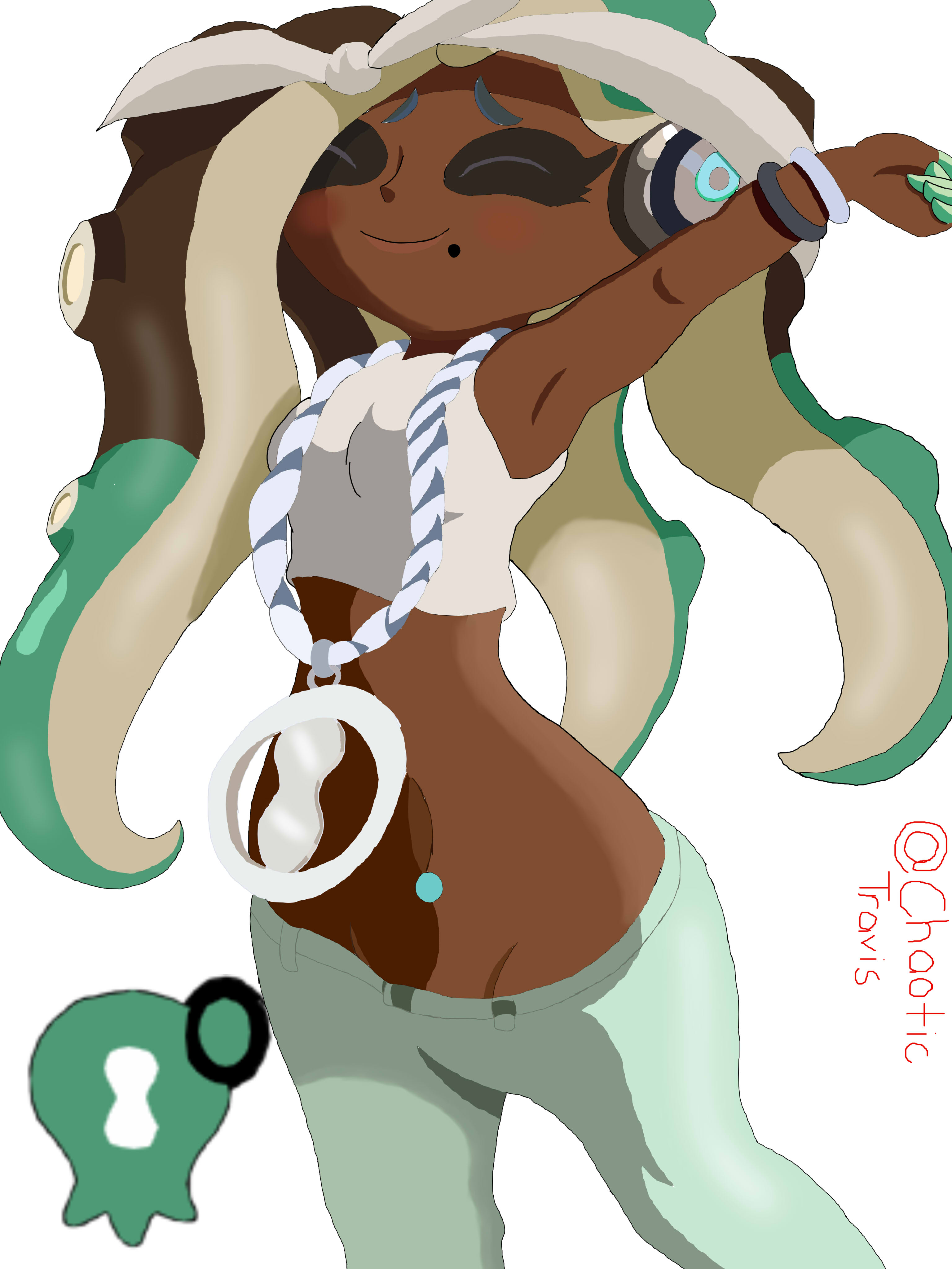 Marina The Octoling Octo Expansion Ver