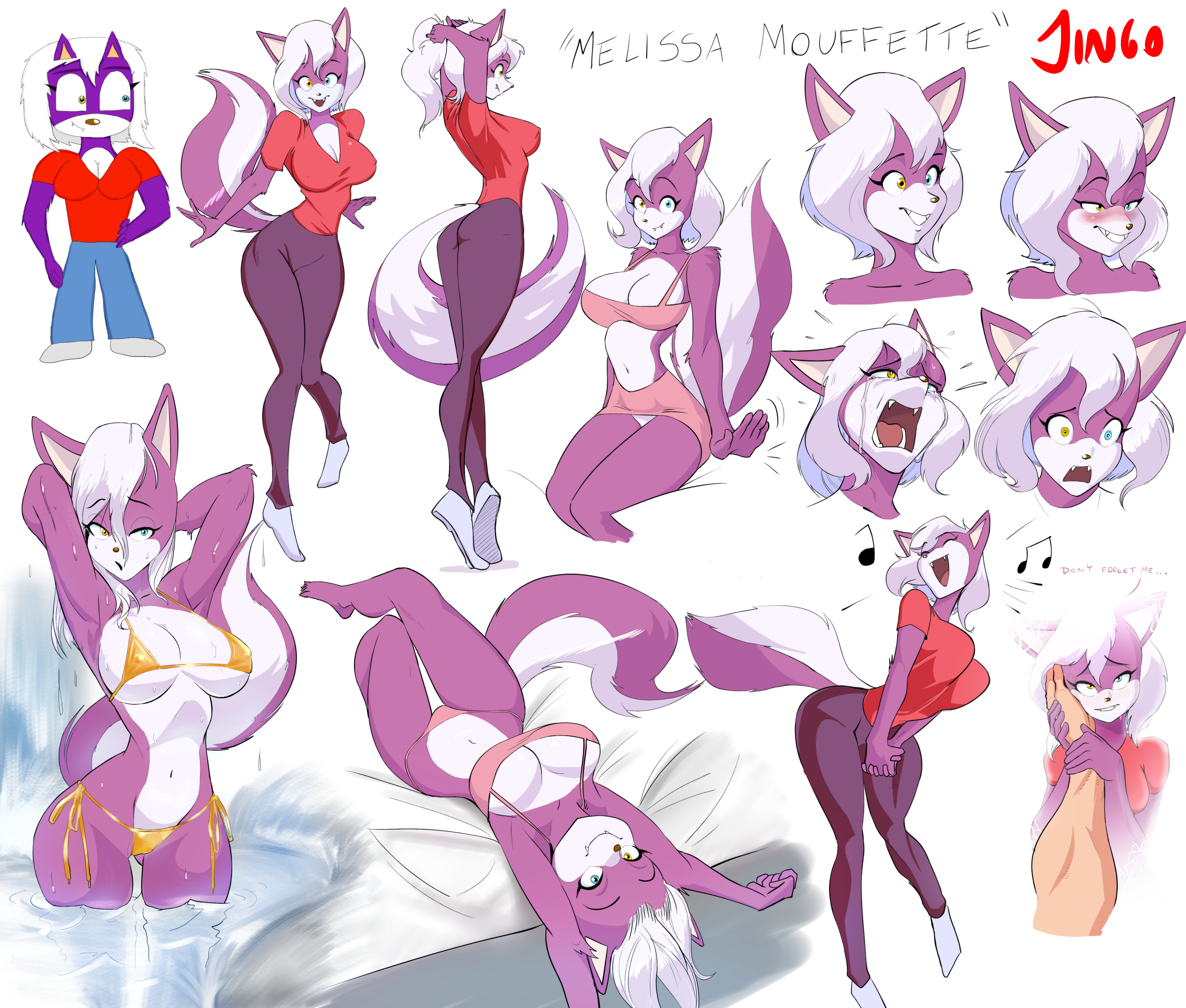 Melissa Mike And Melissa Model Sheet By Captainjingo On Newgrounds Melissa walks in on mike yelling at his staff. newgrounds com