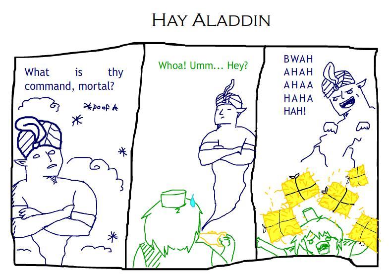 Hay Aladdin