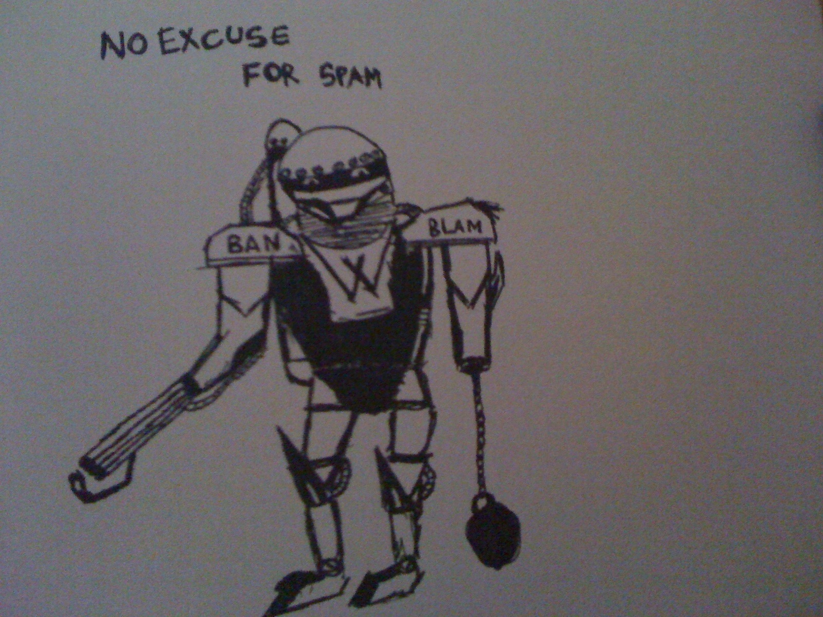 Fast & First Drawing of W-Bot