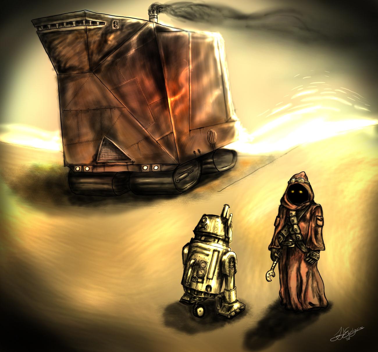 SteamPunk Star Wars: Tattooine