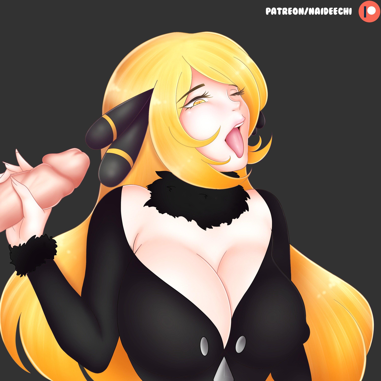 Pokemon hentai cynthia Cynthia Hentai
