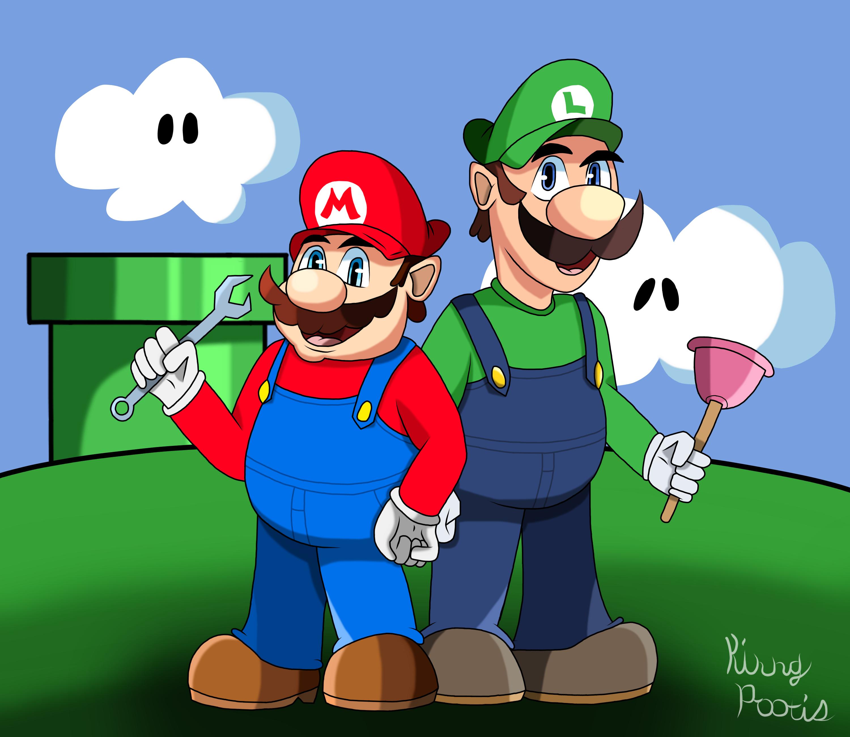 It'sa Us, Mario and Luigi