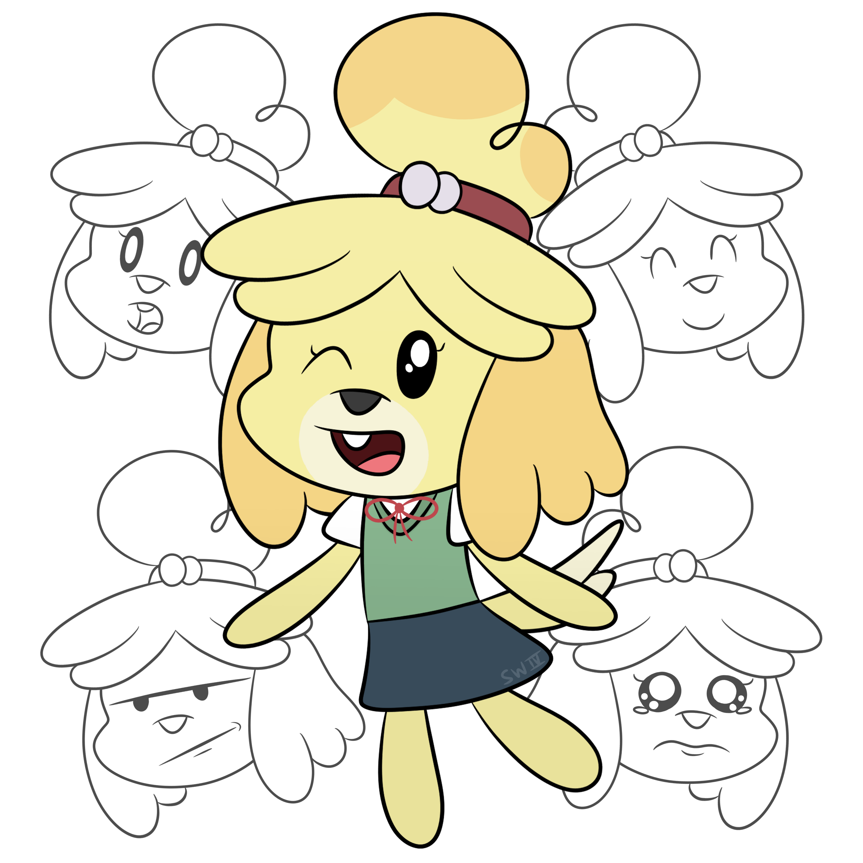 Five Faces of Isabelle