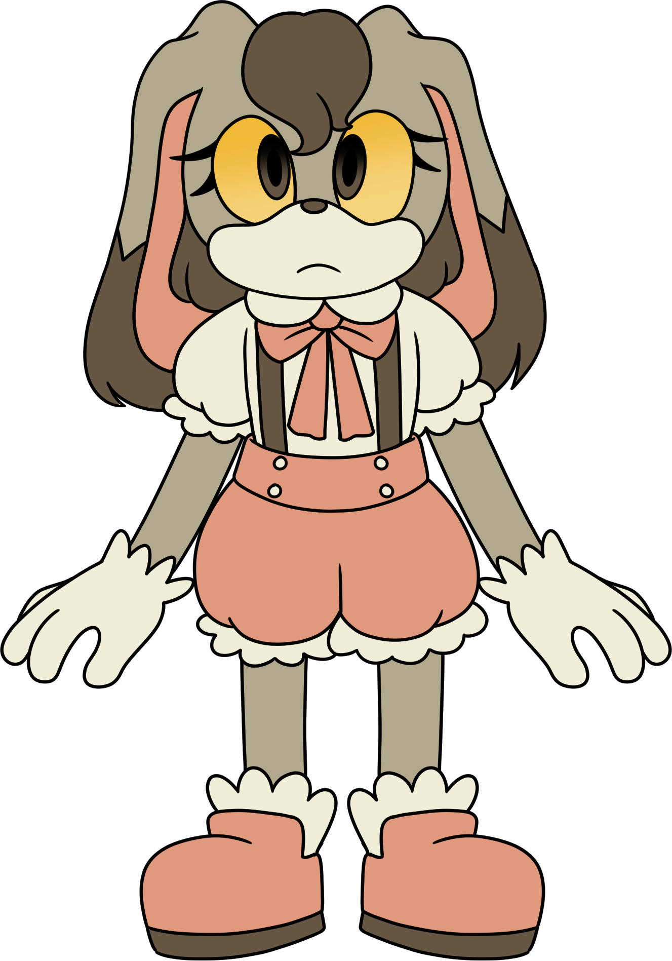 Pumpkaboo + Cream the Rabbit fusion