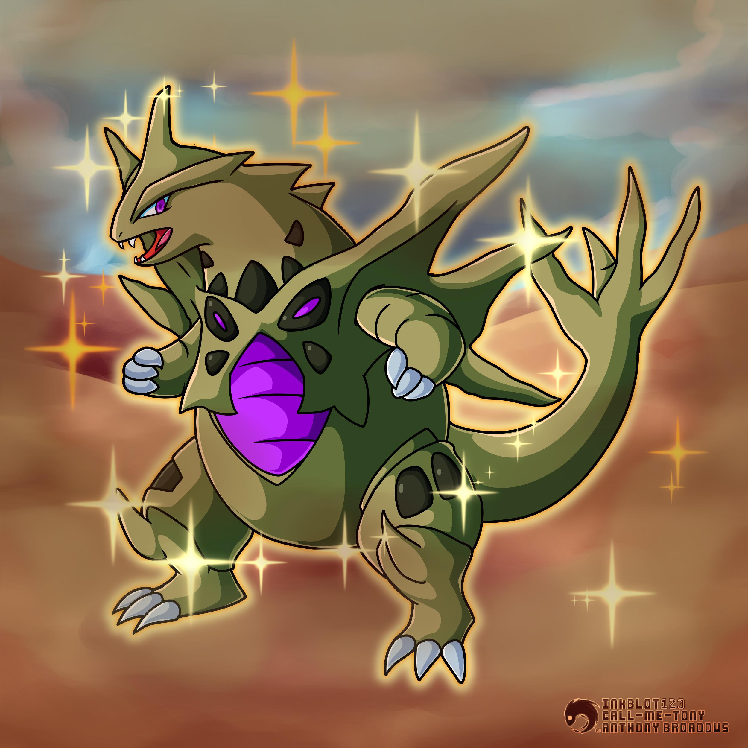 #248 - The Armor Pokemon - Tyranitar (Shiny Mega) by ...