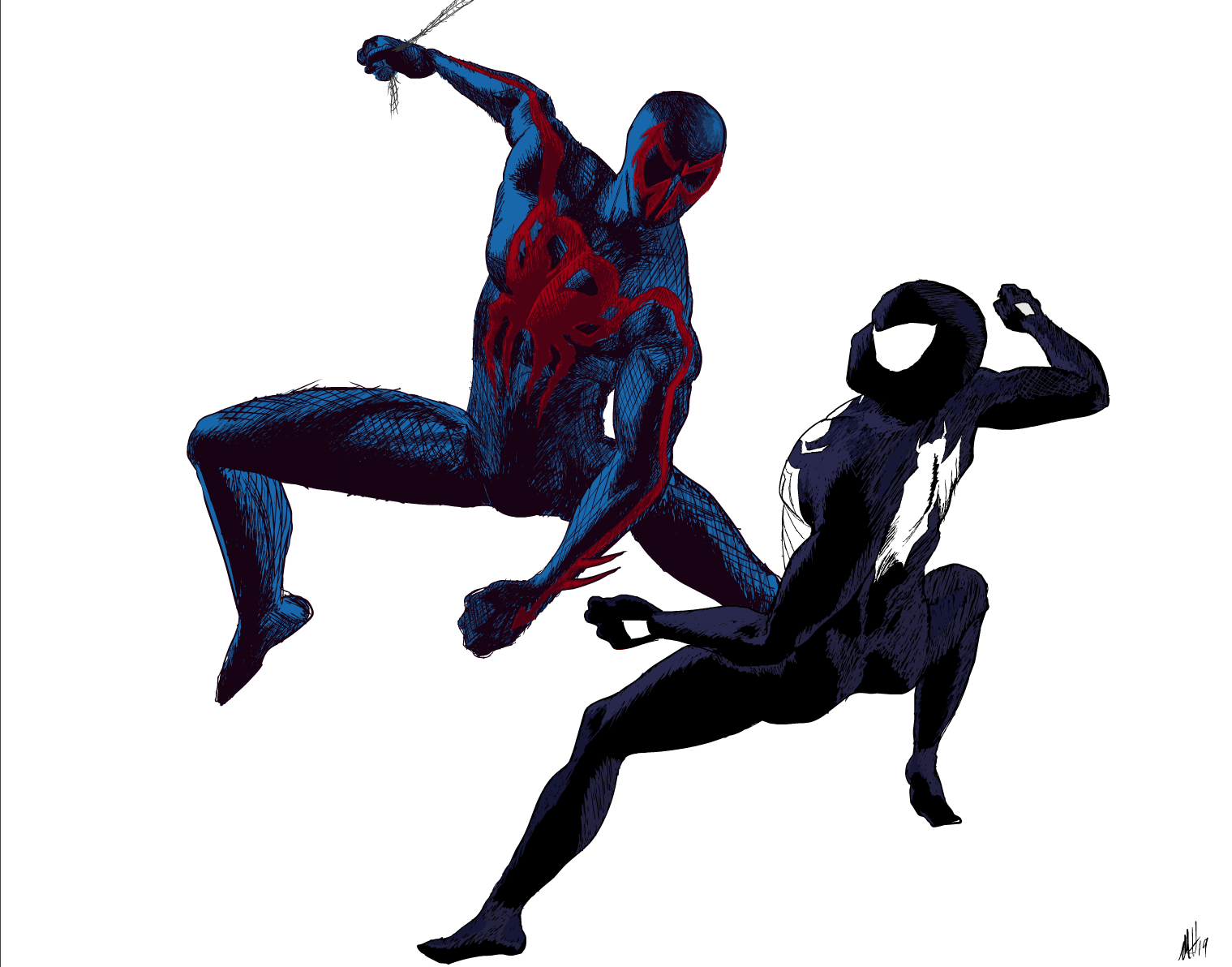 Clash of Spiders