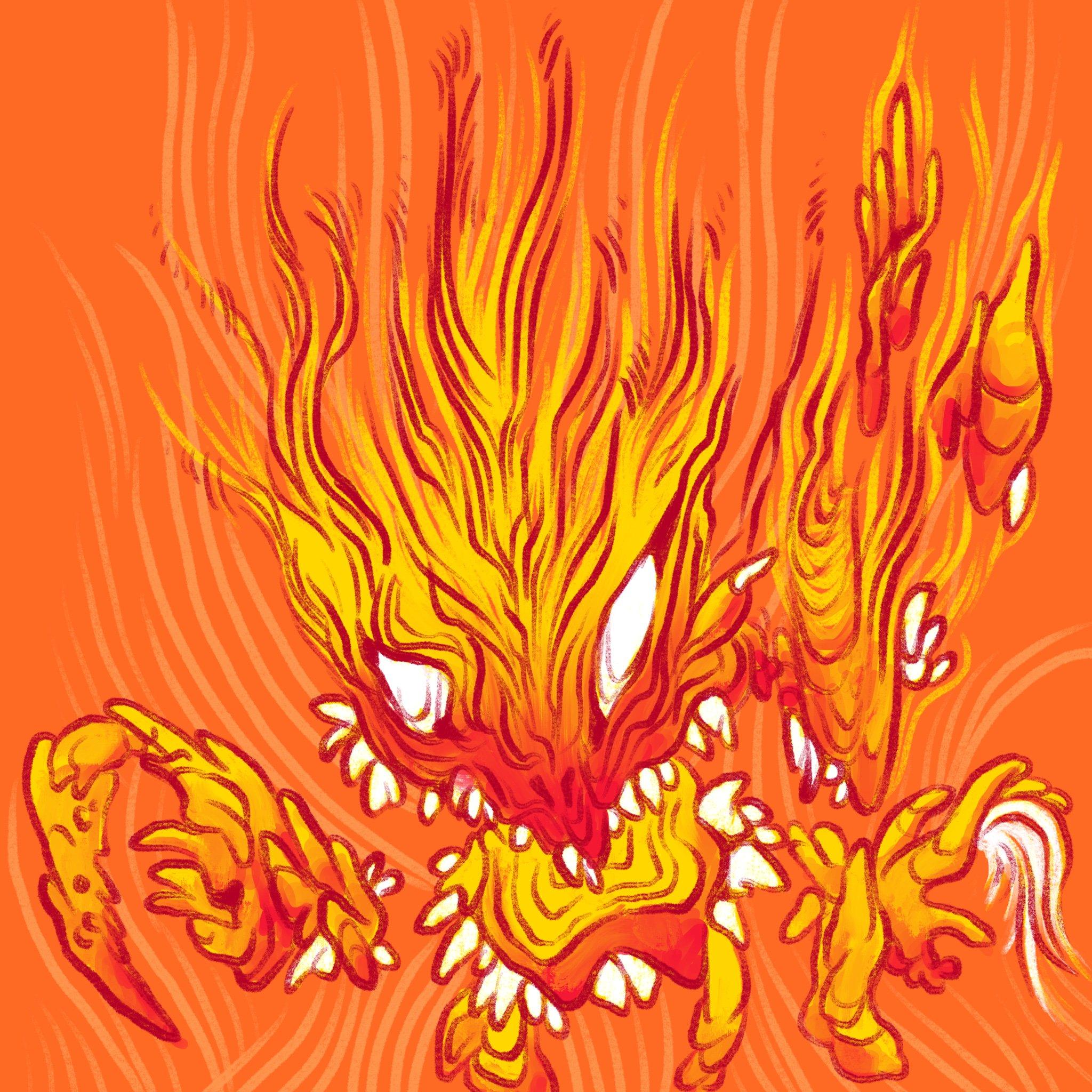 Flame Crab
