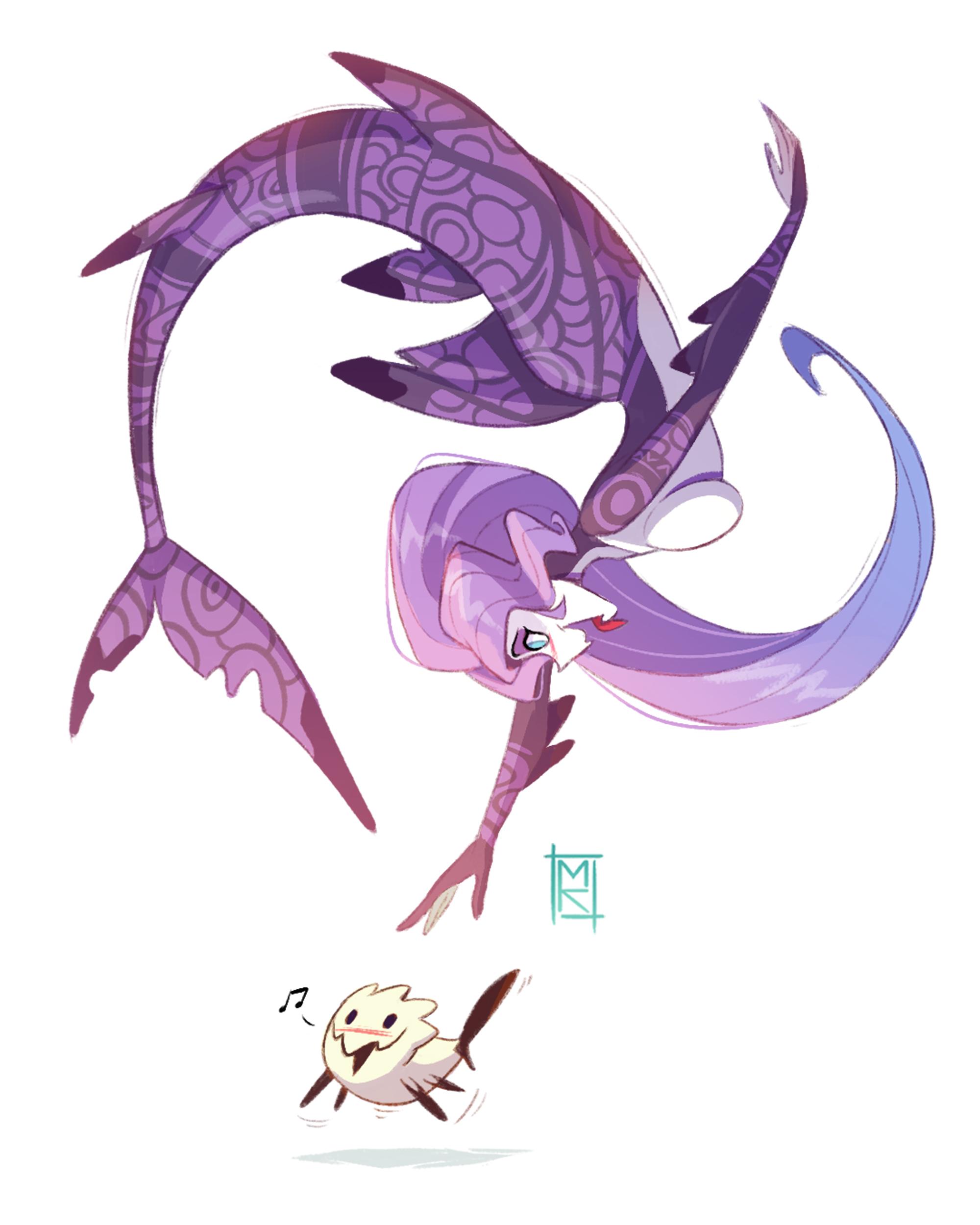 Mermaid #3: Fish
