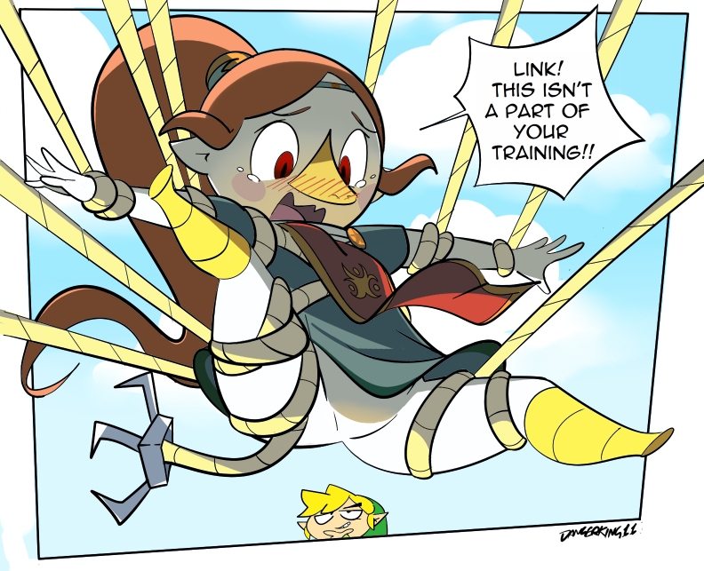 Medli and the Grappling Hook