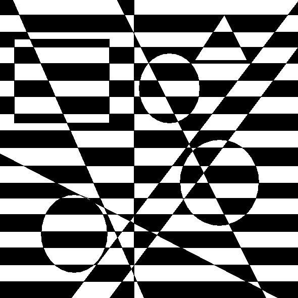 Black White Illusion