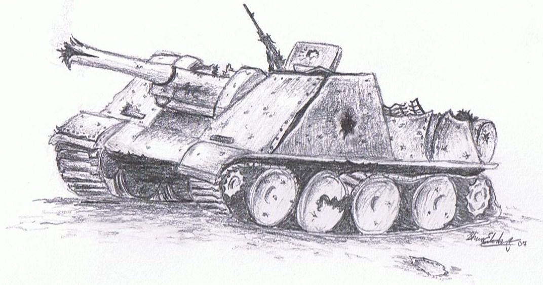 Tank Down!