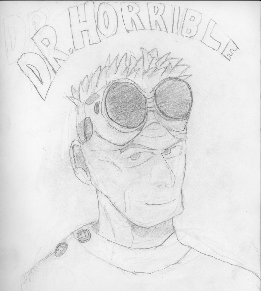 Dr. Horrible Sketch