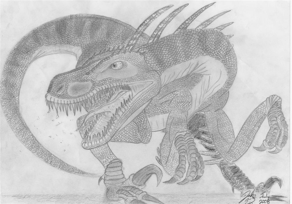 Spittin Raptor