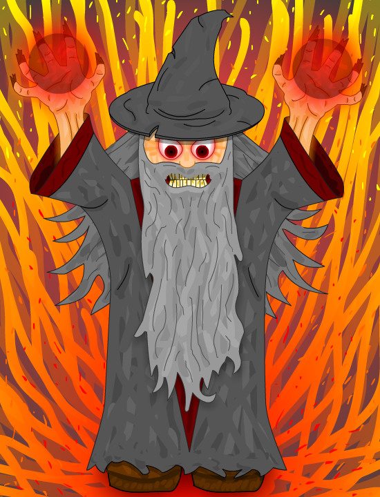 Epic Wizard by RRGameWorks on Newgrounds