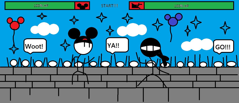 Disney Vs. The Ninja