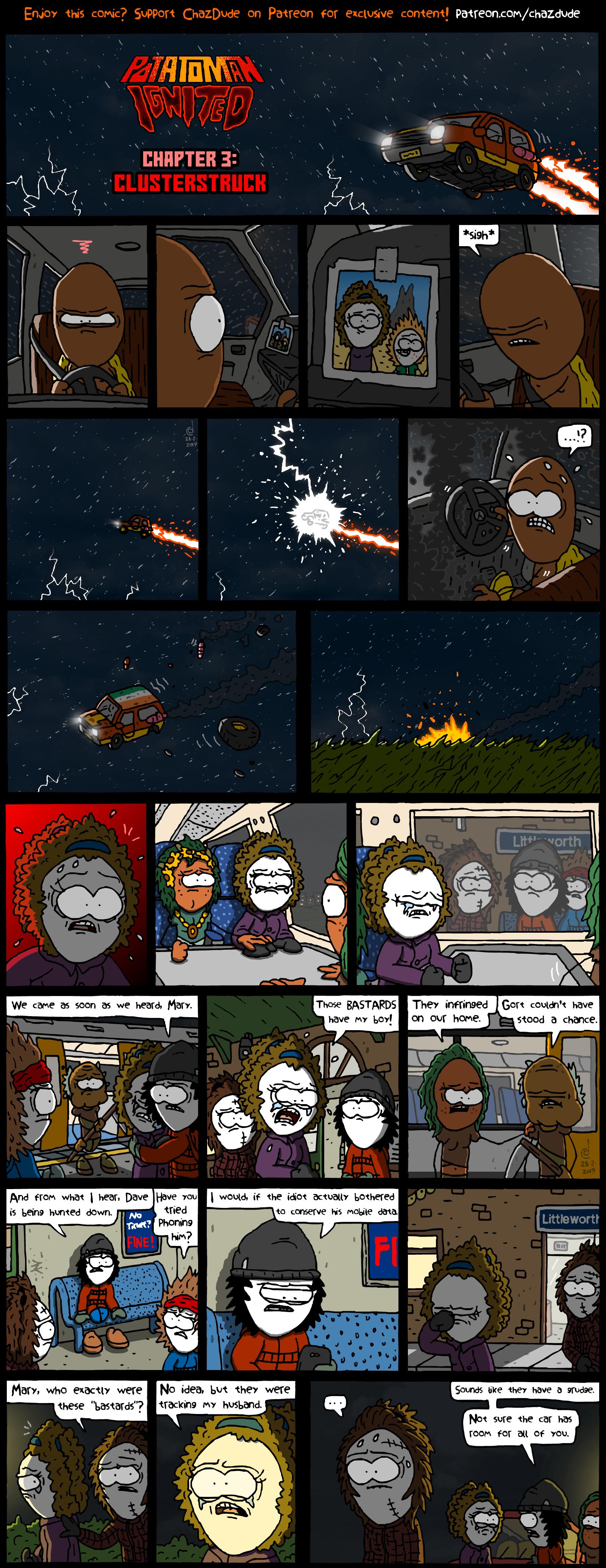 Potatoman Ignited Chapter 3: Clusterstruck