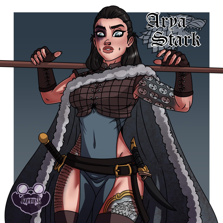 Arya Stark by JZeroSK on Newgrounds