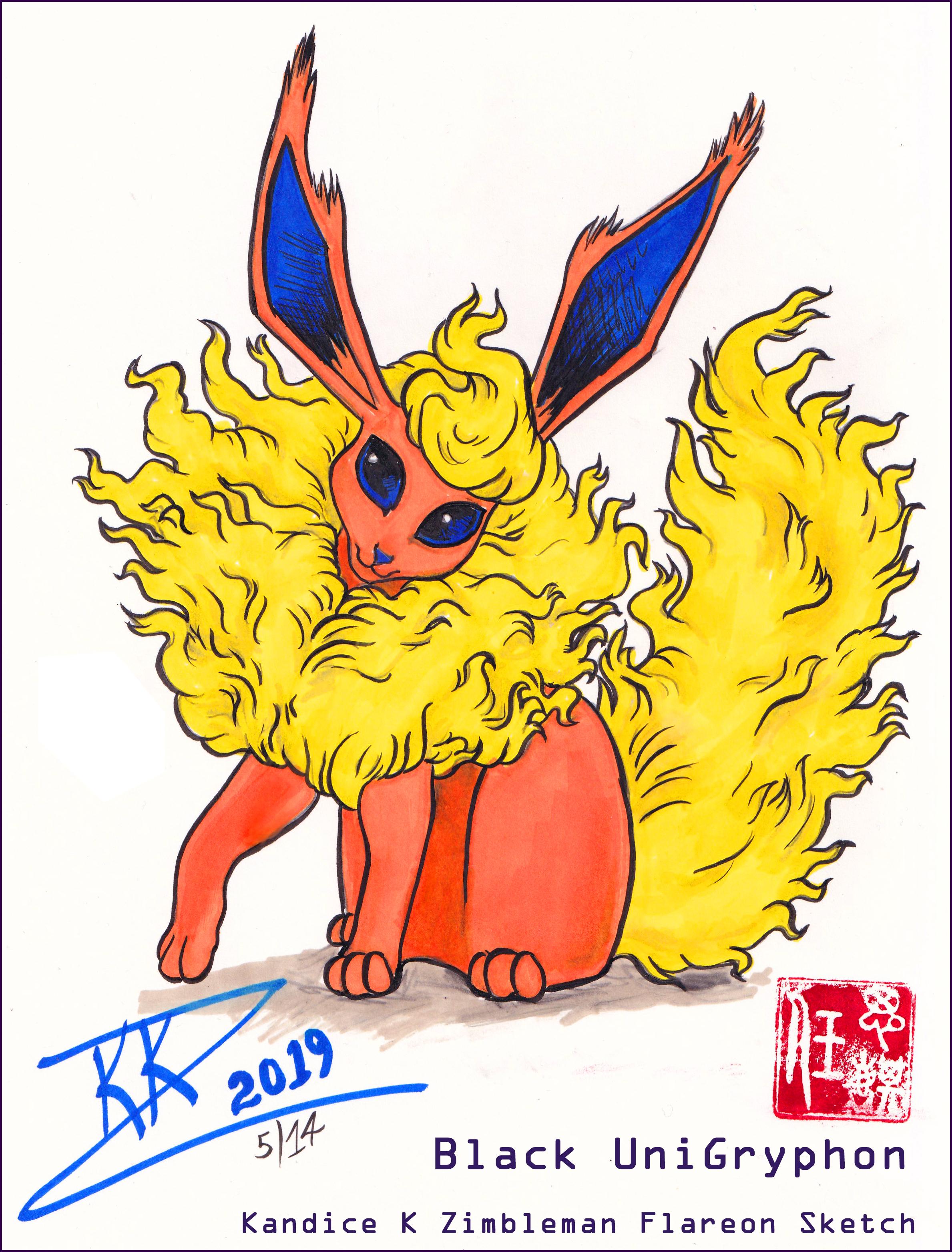 Flareon Eeveelution Pokemon