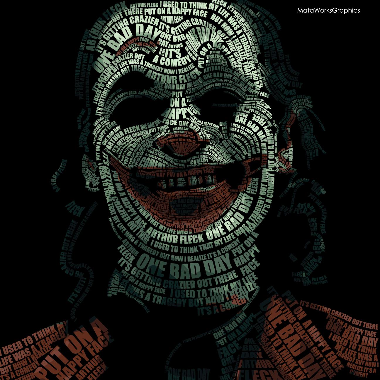 The Joker 2019 typography project by stayfrosty2 on Newgrounds