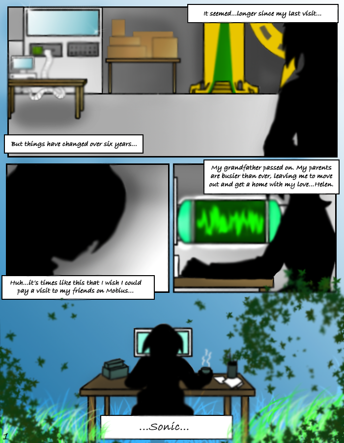 SONIC X.S. - Page 1