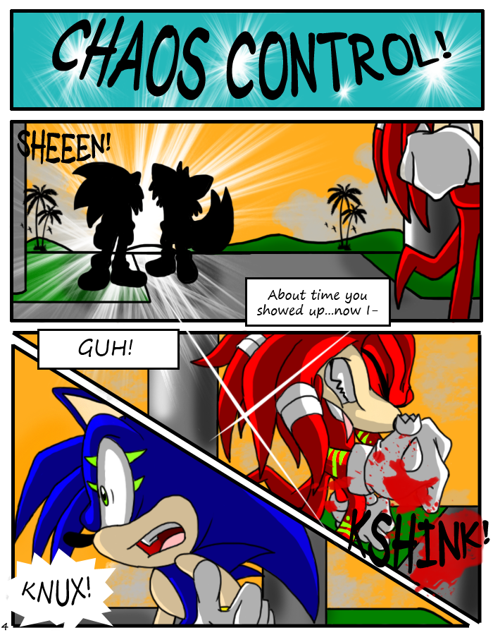 SONIC X.S. - Page 4