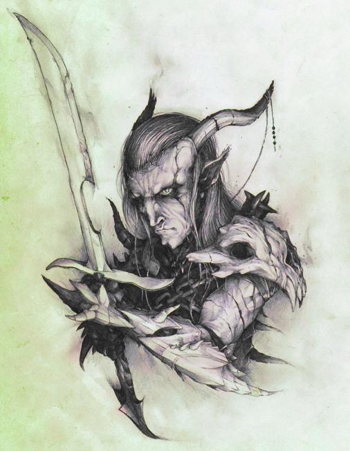 Dragon Elf ... fantasy
