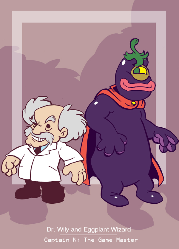 Captain N: Wily & Eggplant Wiz