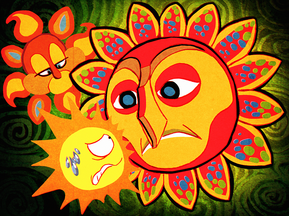 Not-So-Angry Sun