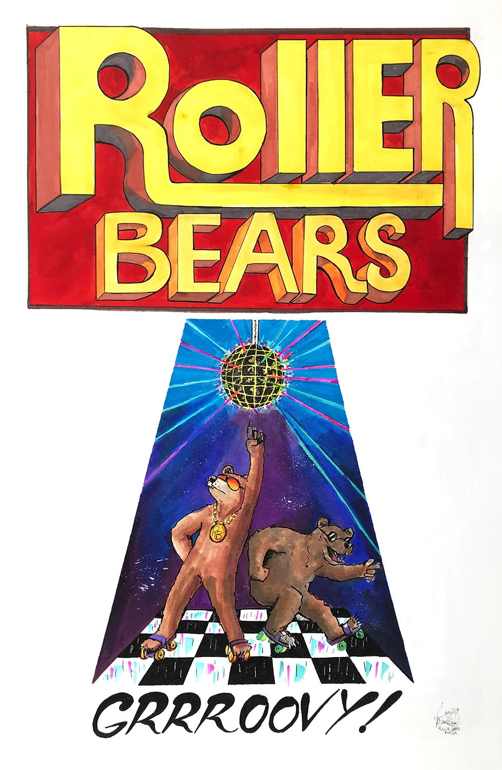 Roller Bears GRRROOVY