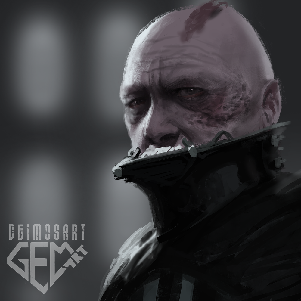 Darth Vader quick painting